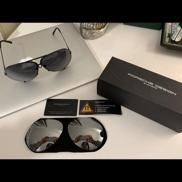 e7c542abb6f Porsche Design P 8478 Sunglasses 2 lenses 69mm. M 5c525df0c6177762b3a0d630
